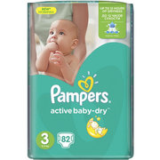 Pampers Active Baby-Dry 5-9 кг (82) фото