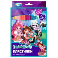 CENTRUM Пластилин Enchantimals 12 цветов (88617)